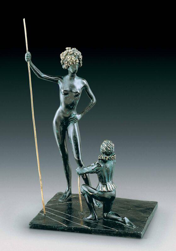 Salvador Dalí, 'Homage To Fashion', 1971, Sculpture, Bronze lost wax process, Dali Paris