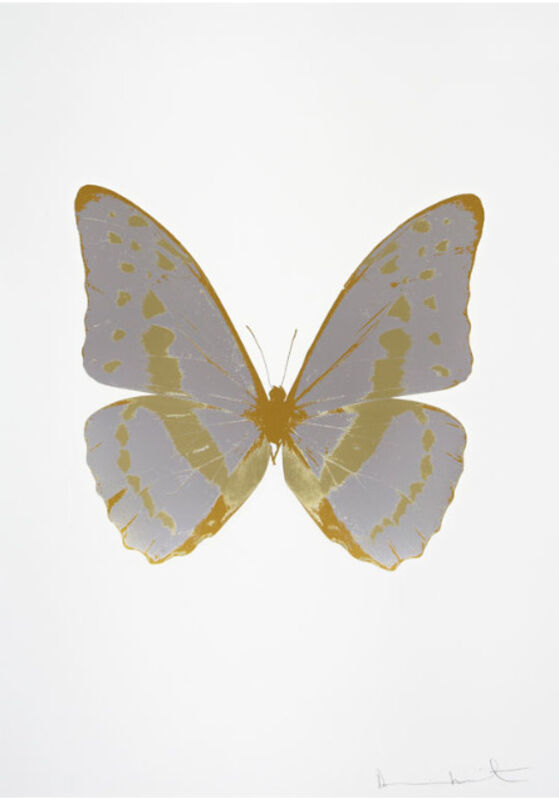Damien Hirst, 'The Souls III - Silver Gloss - Cool Gold - Luxury Gold', 2010, Print, The Colour Foil Block, Cassia Bomeny Galeria