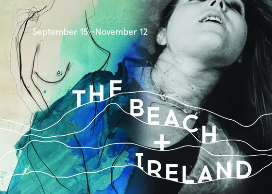 The Beach + Ireland, installation view