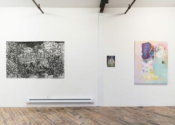 Over the Hills, installation view