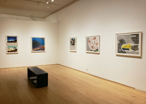 Prints from Shark's Ink, installation view