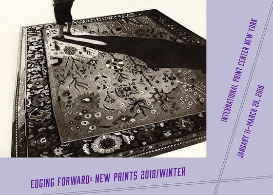Edging Forward: New Prints 2018/Winter, installation view