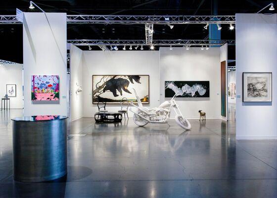 Paul Kasmin Gallery at Seattle Art Fair 2015, installation view
