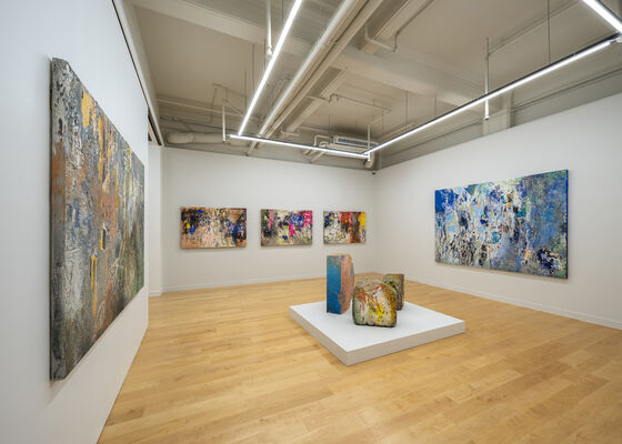 Textures of Memory, installation view