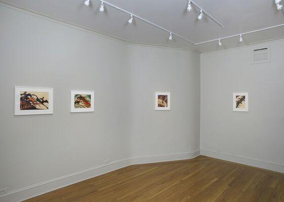British Linocuts of the Grosvenor School, installation view