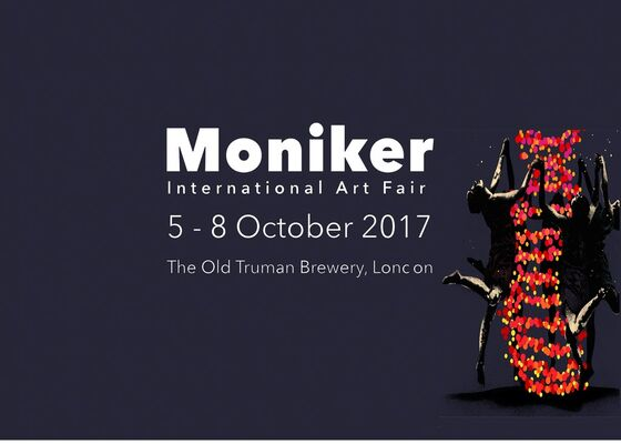 Rhodes at Moniker Art Fair 2017, installation view