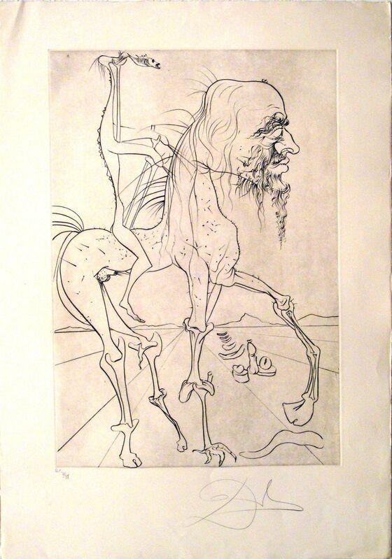 Salvador Dalí, 'La quimera d'Horaci', 2020, Print, Litography, Sala Parés