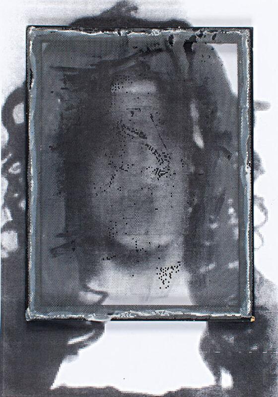 Irfan Önürmen, 'CV N. 3', 2016, Mixed Media, Tulle and acrylic on photocopy, Aria Art Gallery