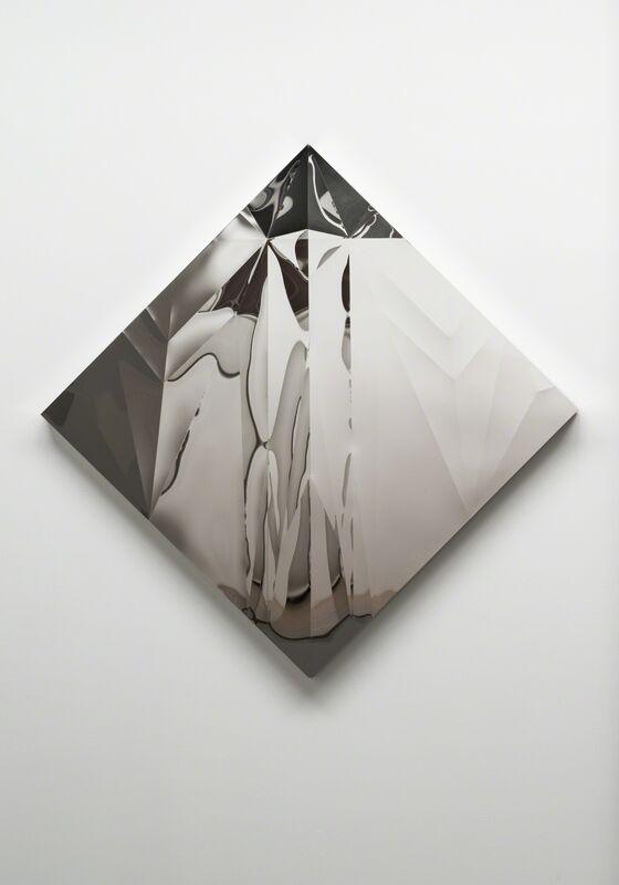 Yusuke Komuta, 'Plane_Jet Fighter', 2013, Sculpture, Stainless, SCAI The Bathhouse
