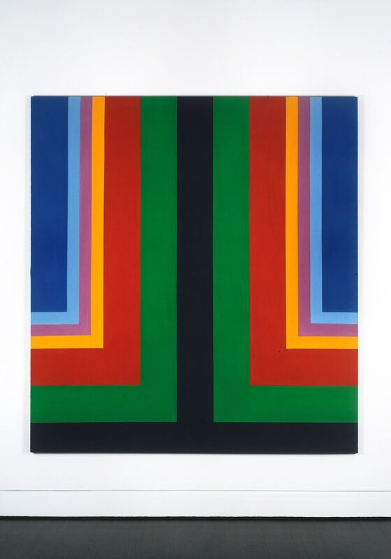Howard Mehring, 'Untitled', ca. 1965, Painting, Acrylic on canvas, Hemphill Artworks