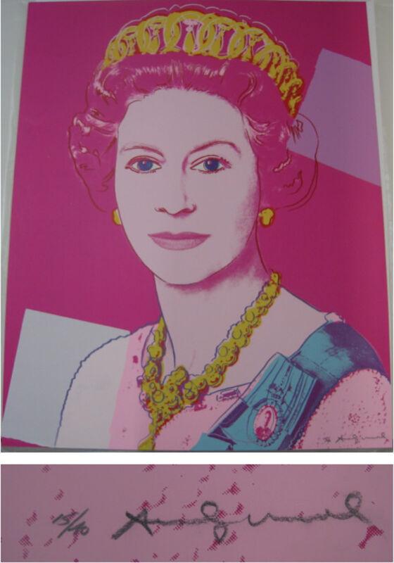 Andy Warhol, 'Reigning Queens: Queen Elizabeth II of the United Kingdom', 1985, Print, From the portfolio of sixteen screenprints on Lenox Museum Board, Coskun Fine Art