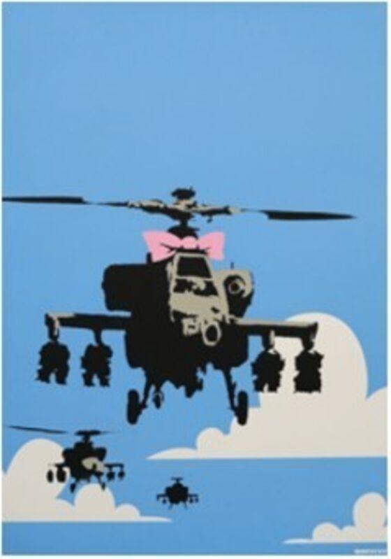 Banksy, 'Happy Chopper', 2003, Print, Screenprint in colors on paper, MoonStar Fine Arts Advisors