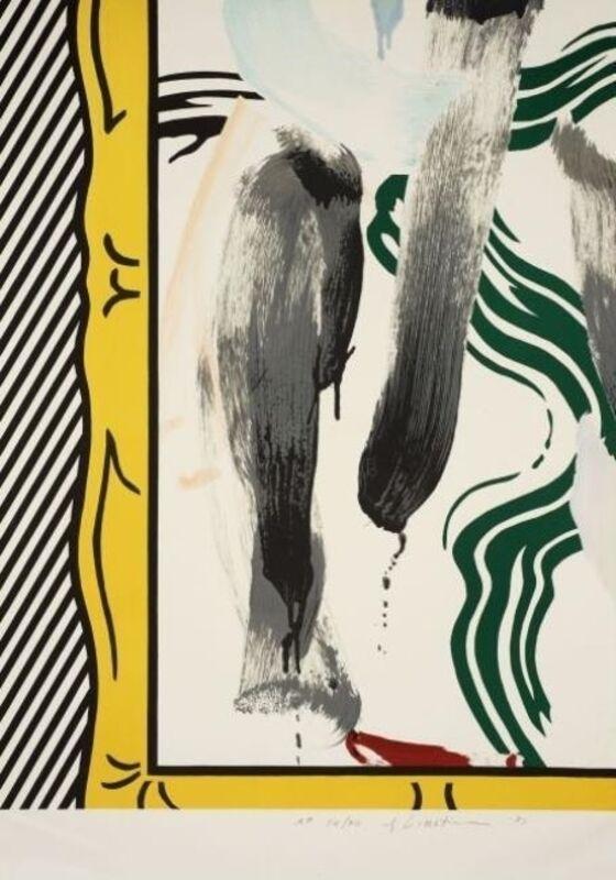 Roy Lichtenstein, 'Against Apartheid', 1983, Print, Lithgraph, Vertu Fine Art