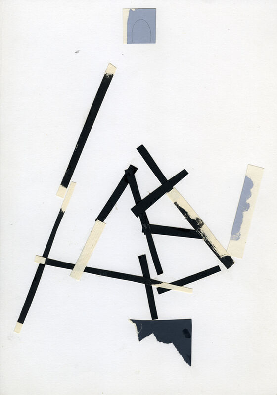 Tadej Pogačar, 'Untitled', 1983, Drawing, Collage or other Work on Paper, P74 Gallery