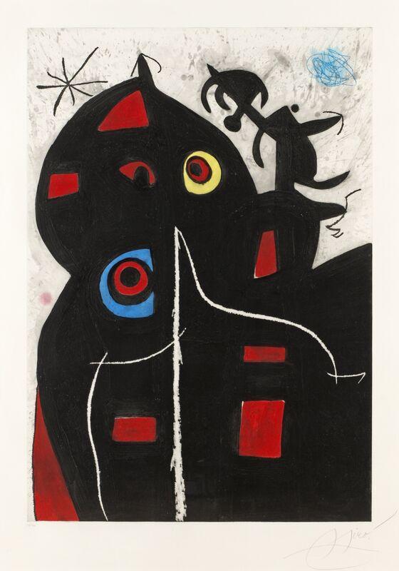 Joan Miró, 'Pantagruel', 1978, Print, Etching with aquatint and scraper on Arches paper, Zeit Contemporary Art