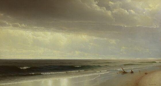 William Trost Richards, 'New Jersey Shore', 1873