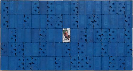 Harmony Korine, 'Anamorphic Blue', 2018