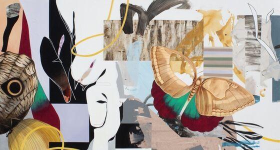 Fiona Ackerman, 'Painting for Maria Sybilia Merian', 2019