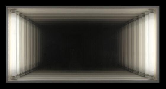 Christian Megert, 'Light object - endless room', 1972