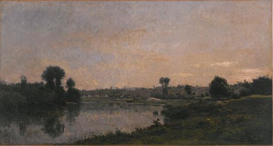 Charles François Daubigny, 'The Sandpits near Valmondois (Les  Sablières près de Valmondois)', 1870