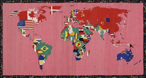 Alighiero Boetti, 'Mappa', 1990-1991
