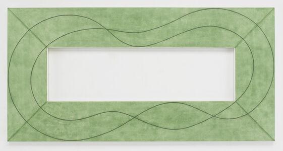 Robert Mangold (b.1937), 'Extended Frame B', 2014