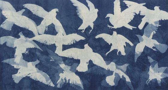 Zhang Dali, 'Deep Blue Sky No.2', 2013