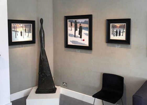 Catto Gallery at London Art Fair: Edit, installation view