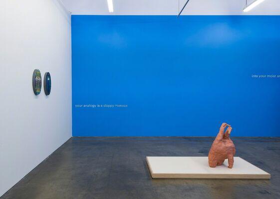 Twist the Spine: Philip Hanson, Liz McCarthy, Kameelah Janan Rasheed, installation view