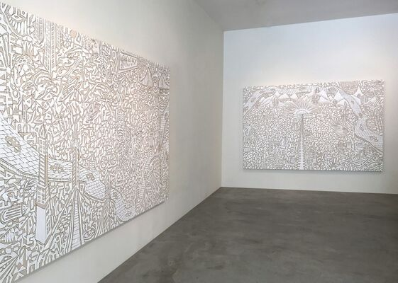 Victor Matthews | The  L O N G E S T  Road, installation view
