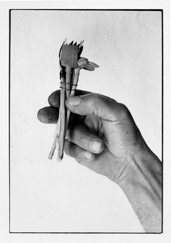 Mario Cresci, 'Dalla serie Misurazioni, Matera 1978 (Vintage print) ', 1978 , Photography, Gelatin silver print on coated paper, Matèria