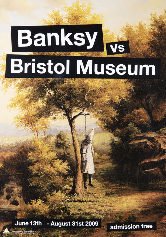 Banksy, 'Banksy vs Bristol Museum', 2009, Posters, A collection of four exhibition posters, Tate Ward Auctions