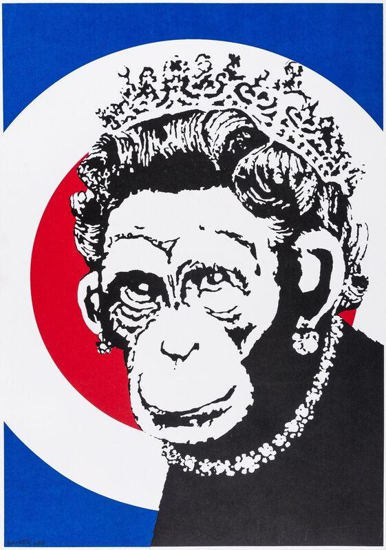 Banksy, 'Monkey Queen', 2004, Print, Screenprint in colours, Forum Auctions