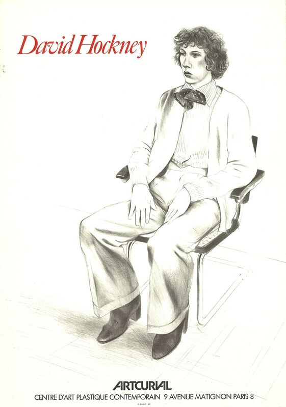 David Hockney, 'Hockney at Artcurial', 1979, Ephemera or Merchandise, Stone Lithograph, ArtWise