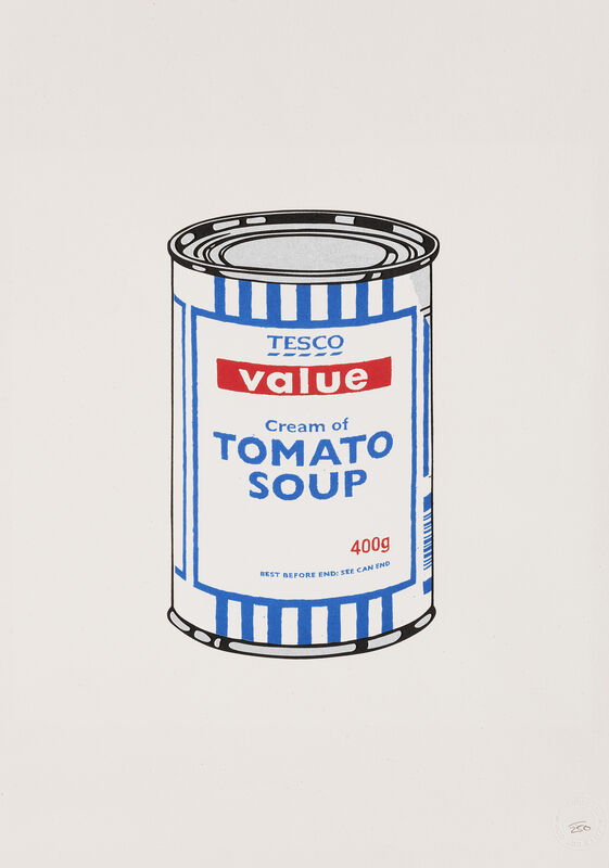 Banksy, 'Soup Can', 2005, Print, Screenprint in colours on wove paper, Tate Ward Auctions