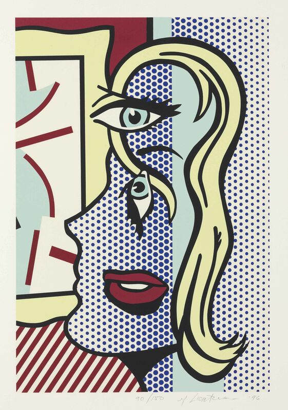 Roy Lichtenstein, 'Art Critic', 1996, Print, Screenprint in colors, on Somerset Textured paper, Upsilon Gallery