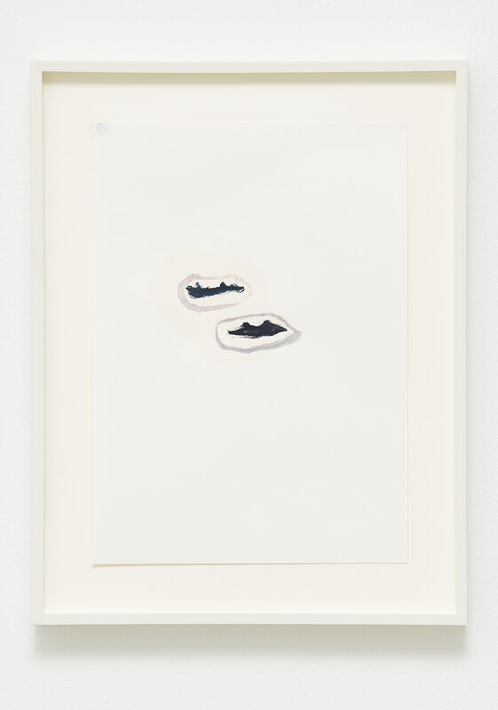 Margrét H. Blöndal, 'Untitled', 2014, Drawing, Collage or other Work on Paper, Watercolour, pencil and olive oil on paper, i8 Gallery