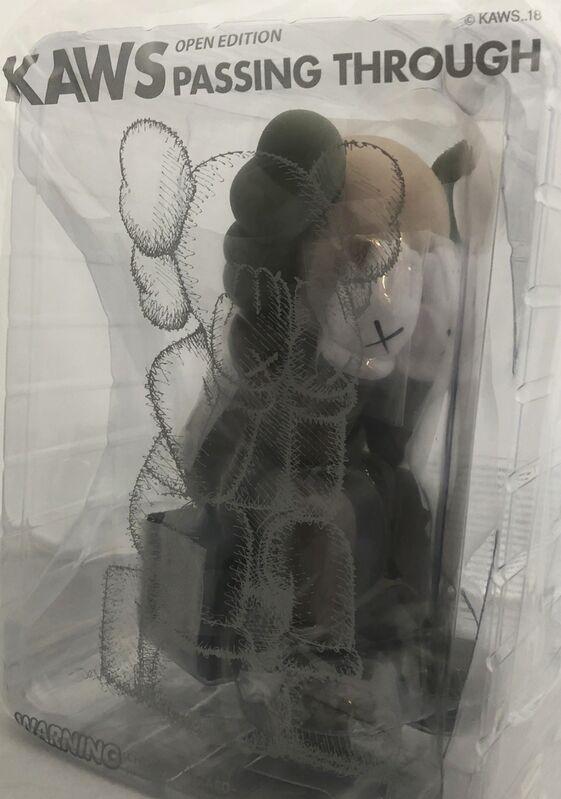 KAWS, 'KAWS Brown Passing Through Companion ', 2018, Sculpture, Vinyl, Cast Resin, Lot 180