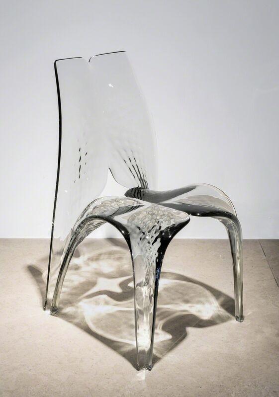 Zaha Hadid, 'Chair 'Liquid Glacial' Smoke', 2015, Design/Decorative Art, Acrylic, David Gill Gallery