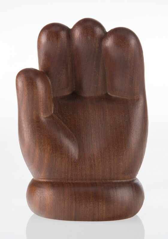 KAWS, 'Wood Hand', 2016, Sculpture, Wood, Heritage Auctions