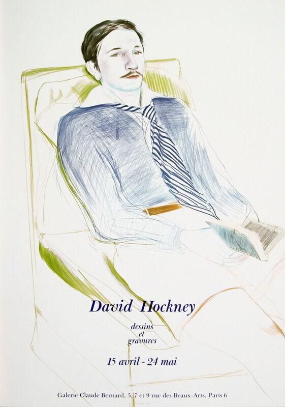 David Hockney, 'Jacques de Bascher de Beaumarchais', 1973, Ephemera or Merchandise, Offset Lithograph, ArtWise