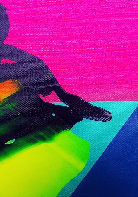 Jack Graves III, 'Shark Fin', 2021, Painting, Acrylic Painting on Canvas, Graves International Art