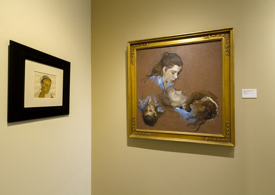 NORMAN ROCKWELL, installation view