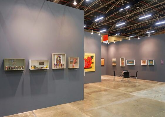 Beatriz Esguerra Art at ARTBO 2018, installation view