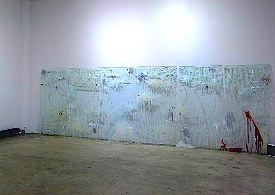 "RETROSPECTIVE 1 | JONAS ""SUN7"" BOURNAT, installation view"
