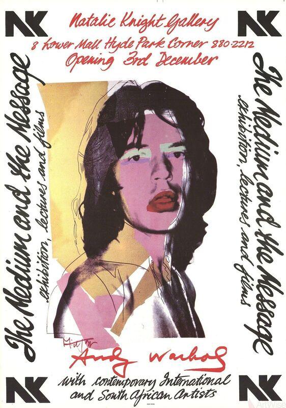 Andy Warhol, 'Mick Jagger', 1974, Ephemera or Merchandise, Offset Lithograph, ArtWise