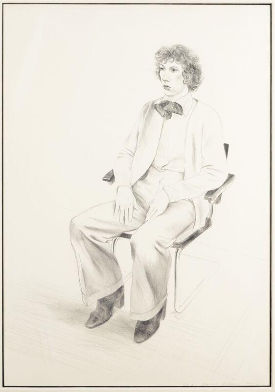David Hockney, 'Gregory Evans (Tokyo 165)', 1976, Print, Lithograph, Forum Auctions