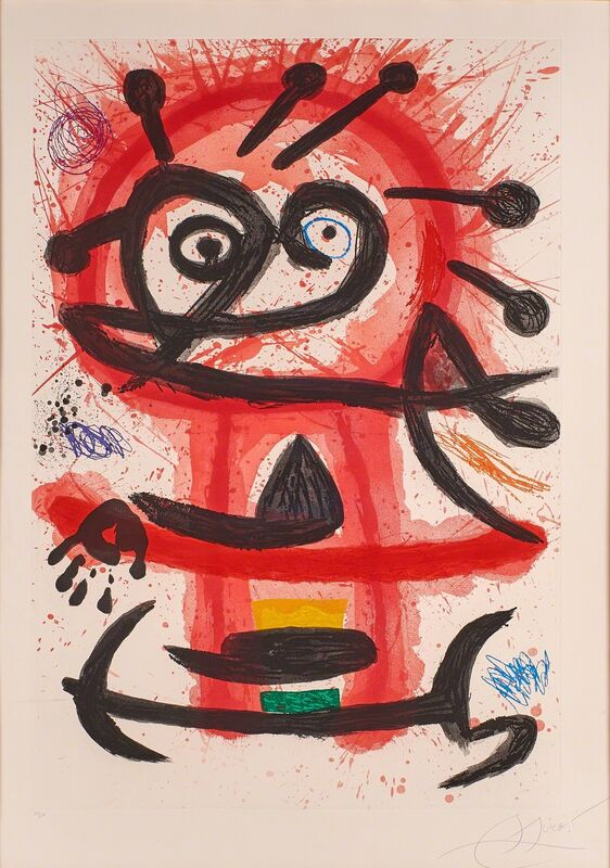 Joan Miró, 'Mambo', 1978, Print, Etching and aquatint in colors on Arches paper (framed), Rago/Wright