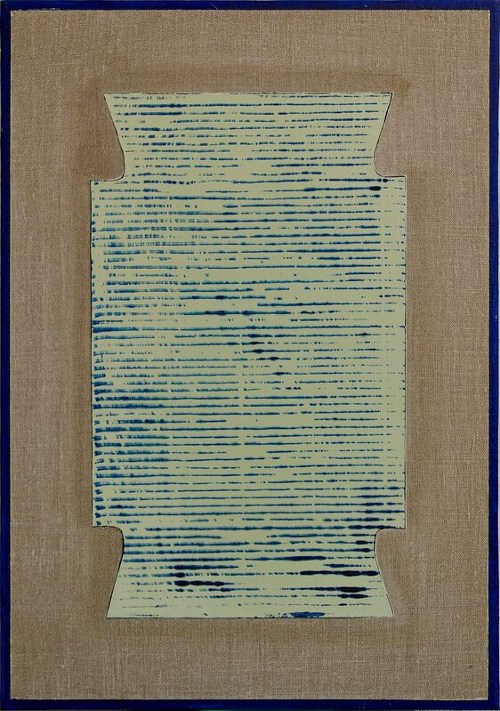 Stefano Cumia, 'SCP TV 4K ', 2, Painting, Egg tempera, oil, plaster pigment on linen, Rizzutogallery