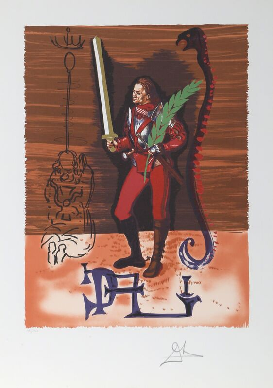 Salvador Dalí, 'Christopher Columbus', 1979, Print, Lithograph on Arches, RoGallery